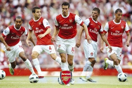 The Gunners Star Players - Arsenal Football Club