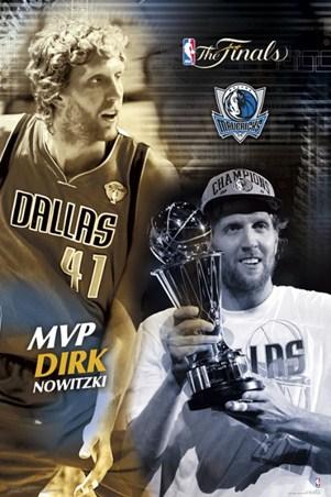 Finals MVP - Dirk Nowitzki