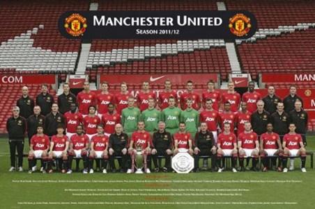Team Photo 2011-2012 - Manchester United F.C.
