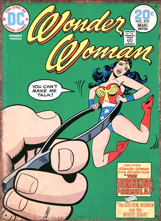 Wonder Woman - The Shrinking Formula