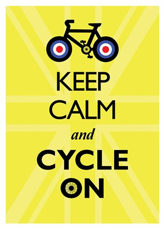 Keep Calm & Cycle On, Keep Calm & Carry On Poster - Buy Online Keep Calm And Be Yourself