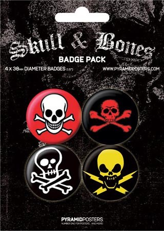 Skull and Bones - Skull Badge Pack