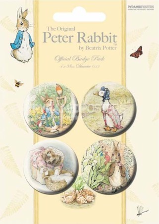 Peter Rabbit And Friends - Beatrix Potter
