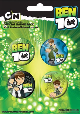 Ben 10 - Ben 10 Button Badge Pack