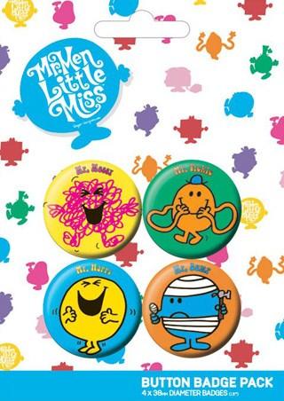 Mr Messy, Mr Tickle, Mr Happy & Mr Bump - Mr Men