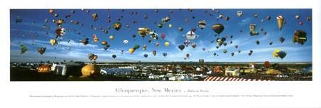 Balloon Fiesta - Albuquerque, New Mexico - By James Blakeway