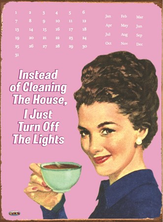 Modern Woman's Guide To Housework - Instead Of Cleaning
