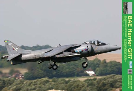 BAE Harrier GR7 - Taking Off!