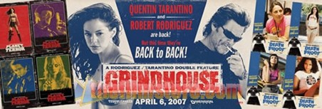 Tarantino and Rodriguez are back - Grindhouse