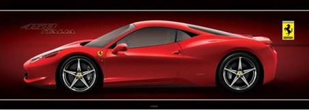 The 458 Italia Sportscar - Ferrari
