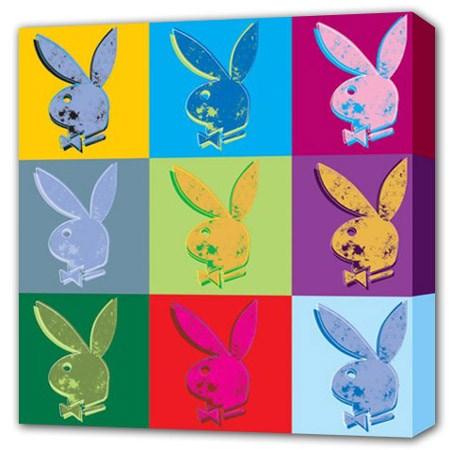 Pop Art Playboy - Playboy Bunny Canvas