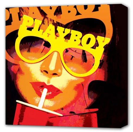 Vintage Playboy  - Hugh Heffner's Playboy Canvas