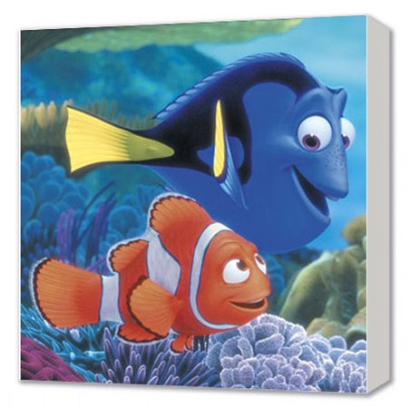 Disney's Finding Nemo  - Marvin and Dory searching for Nemo - Disney Canvas