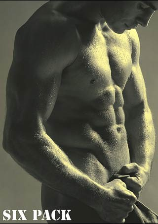 Muscular Male Body - A Man's Six Pack