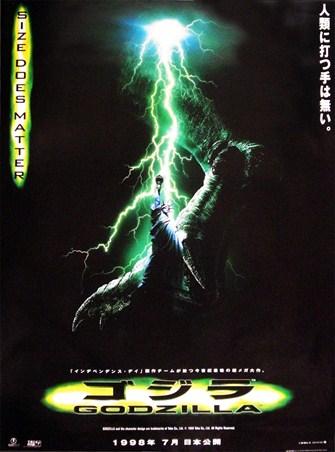 Size Does Matter, Godzilla - PopArtUK