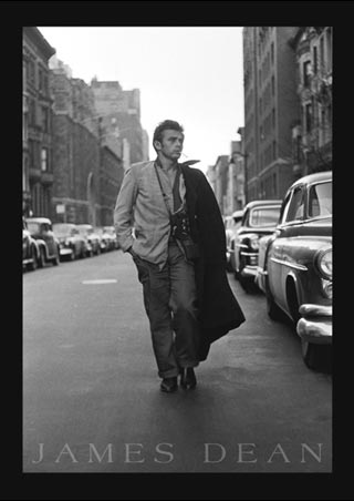 Broadway, New York City - James Dean