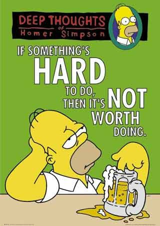 Homer Simpson, Deep Thoughts - The Simpsons