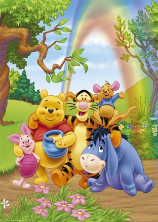 Together at the end of the Rainbow - A. A. Milne 's Winnie the Pooh