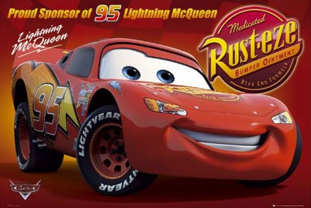 Lightening McQueen - Cars