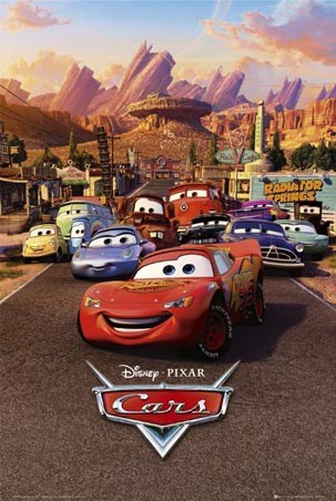Character Collage - Cars: The Movie