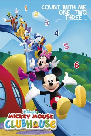 Count With Me. One, Two, Three - Mickey Mouse Club House - Walt Disney