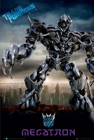 Megatron - Above the City - Transformers: The Movie