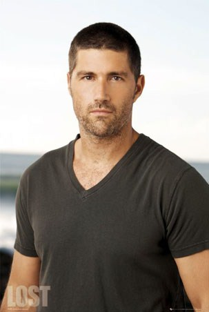 Matthew Fox as Dr Jack Shephard - Cult TV Series, Lost