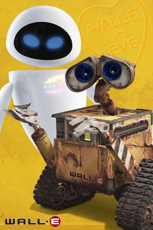 Wall-E and Eve - Disney Pixar's Wall-E