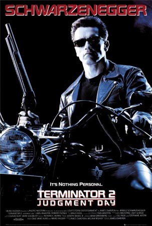Judgement Day - Schwarzenegger in Terminator 2