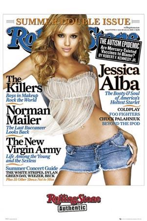 Jessica Alba, American Starlet - Rolling Stone Magazine
