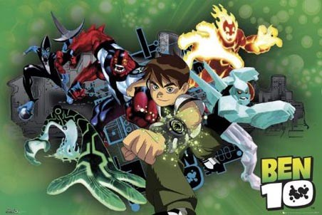 Ben Tennyson & the Omnitrix Aliens - Ben 10