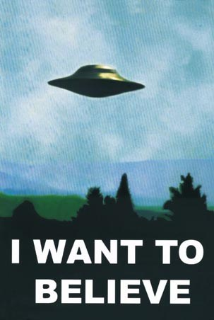 I want to believe - X-Files