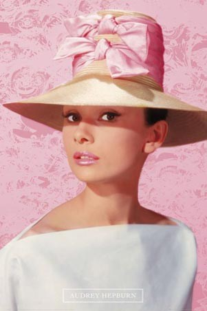 Pretty in Pink - Audrey Hepburn