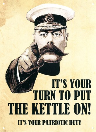 Put the Kettle On! - Your Patriotic Duty