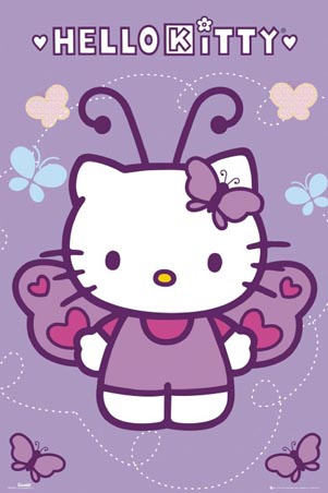 Butterfly - Hello Kitty