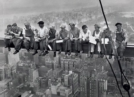Lunch On A Skyscraper Men On A Girder Poster Buy Online