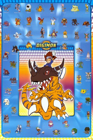 Monster Collage - Digimon