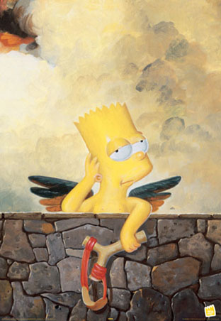 Cherubs - Bart Simpson - The Simpsons