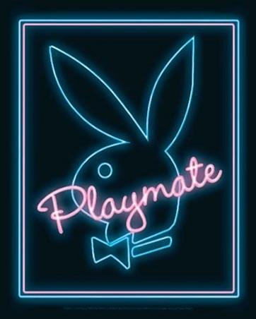 Playmate - Neon Playboy Bunny