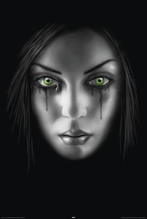 Sad Face - by Anne Stokes