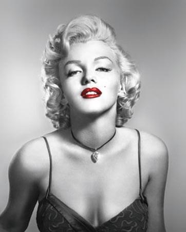 Red Lips - Marilyn Monroe
