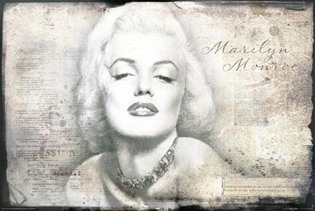 Portrait with a Difference - Marilyn Monroe