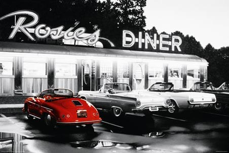 Red Car - Rosie's Diner