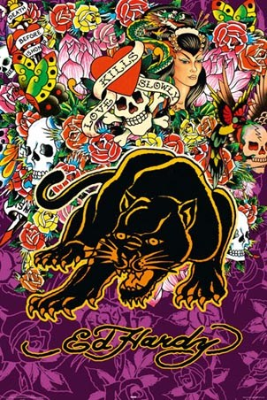Black Panther - Ed Hardy