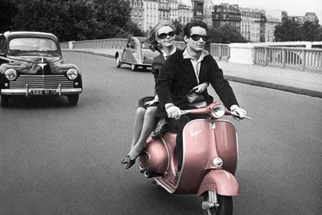 City Of Romance - Scooter In Paris
