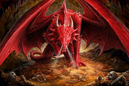 Dragon's Lair - Anne Stokes
