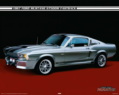 1967 Ford Mustang GT500M Fastback - Right Foot Fanatics