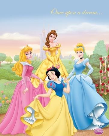 disney princesses once upon a dream popartuk. Black Bedroom Furniture Sets. Home Design Ideas