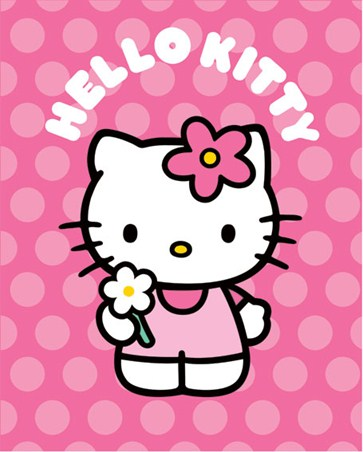 Pink and Spotty - Hello Kitty