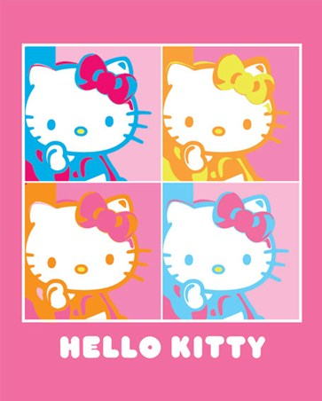 Pop Art Portraits - Hello Kitty